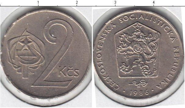 Каталог монет - Чехословакия 2 кроны