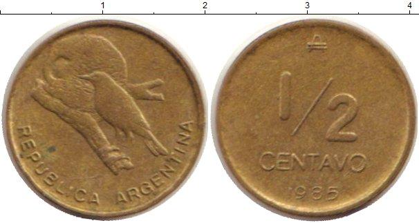 Каталог монет - Аргентина 1/2 сентаво