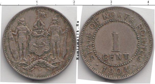 Каталог монет - Борнео 1 цент