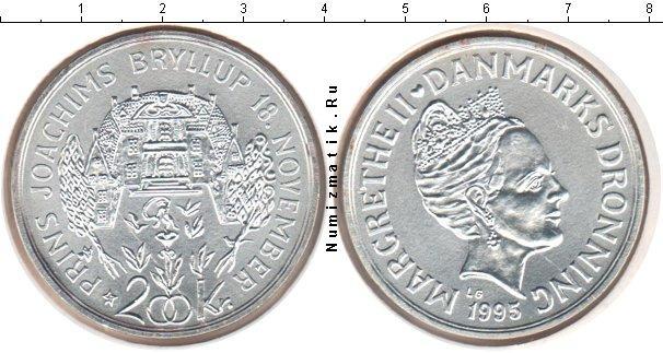 Каталог монет - Дания 200 крон