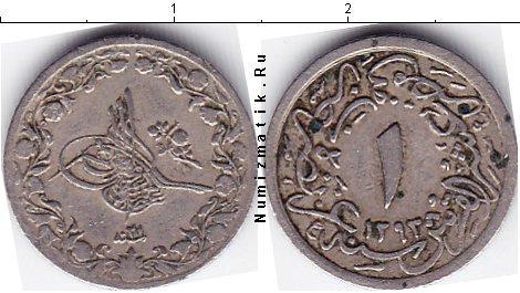 Каталог монет - Египет 1/10 кирша