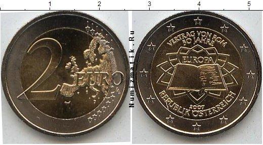 Каталог монет - Австрия 2 евро