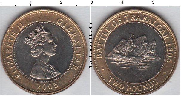 Каталог монет - Гибралтар 2 фунта