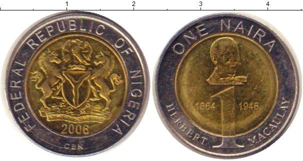 Каталог монет - Нигерия 1 найра