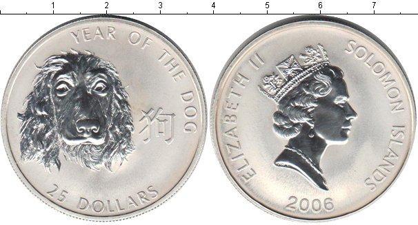 Каталог монет - Соломоновы острова 25 долларов