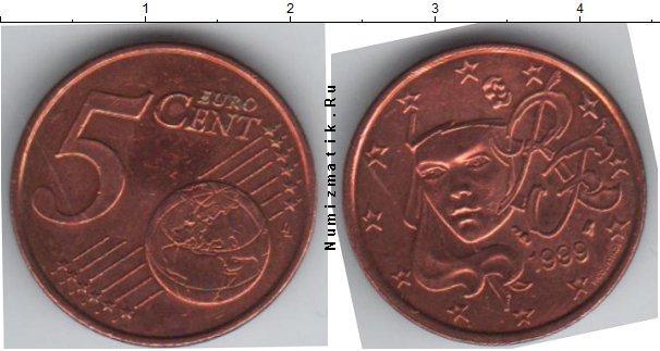 Каталог монет - Франция 5 евроцентов