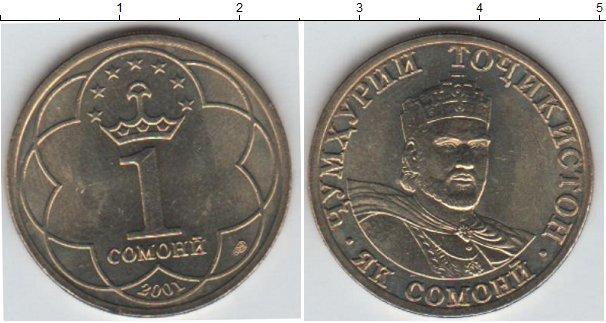 Каталог монет - Таджикистан 1 сомони