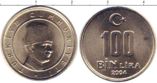 Каталог монет - Турция 100000 лир