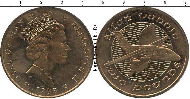 Каталог монет - Остров Мэн 2 фунта