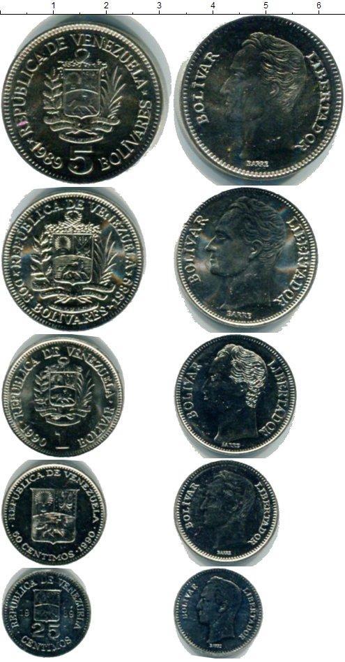 Каталог монет - Венесуэла Венесуэла 1989-1990