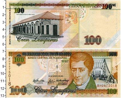 Каталог монет - Гондурас 100 лемпир