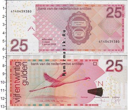 Каталог монет - Антильские острова 25 гульденов