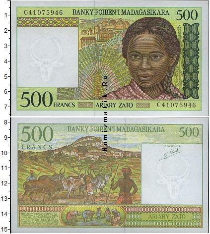 Каталог монет - Мадагаскар 500 франков