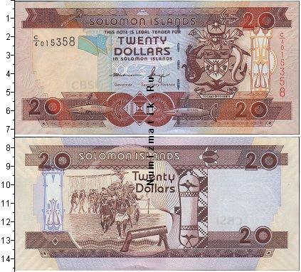 Каталог монет - Соломоновы острова 20 долларов
