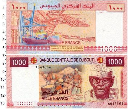 Каталог монет - Джибути 1000 франков