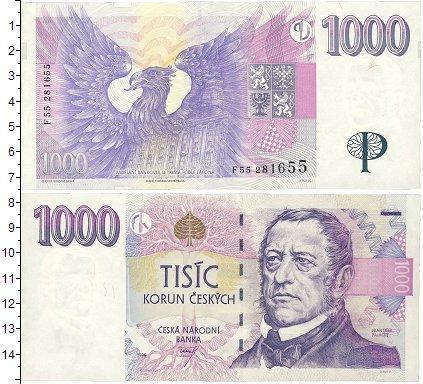 Каталог монет - Чехия 1000 крон