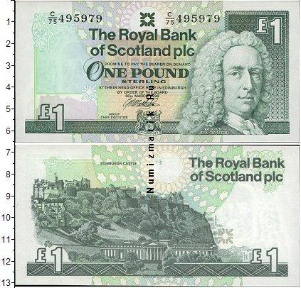 Каталог монет - Шотландия 1 фунт