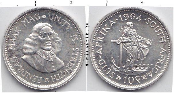 Каталог монет - ЮАР 10 центов