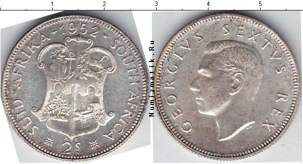 Каталог монет - ЮАР 2 шиллинга