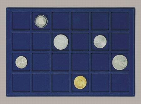 Каталог монет - Другие Пластиковый планшет на 24 ячейки