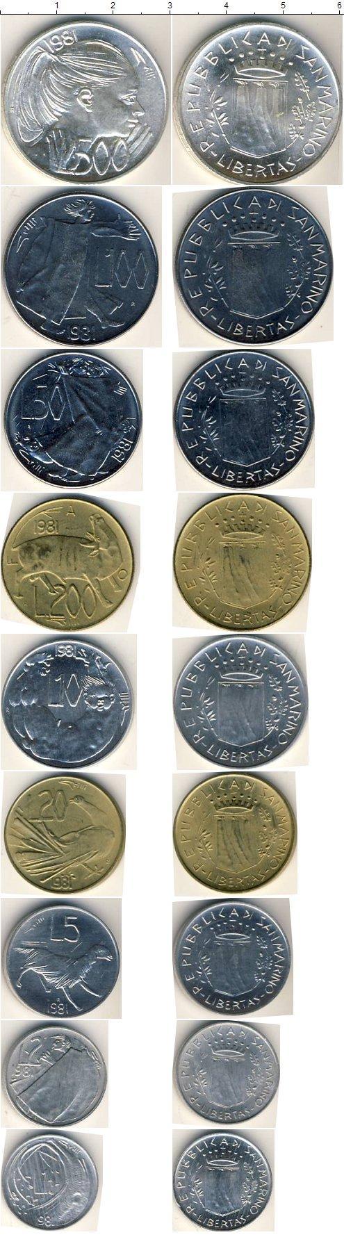 Каталог монет - Сан-Марино Сан-Марино 1981
