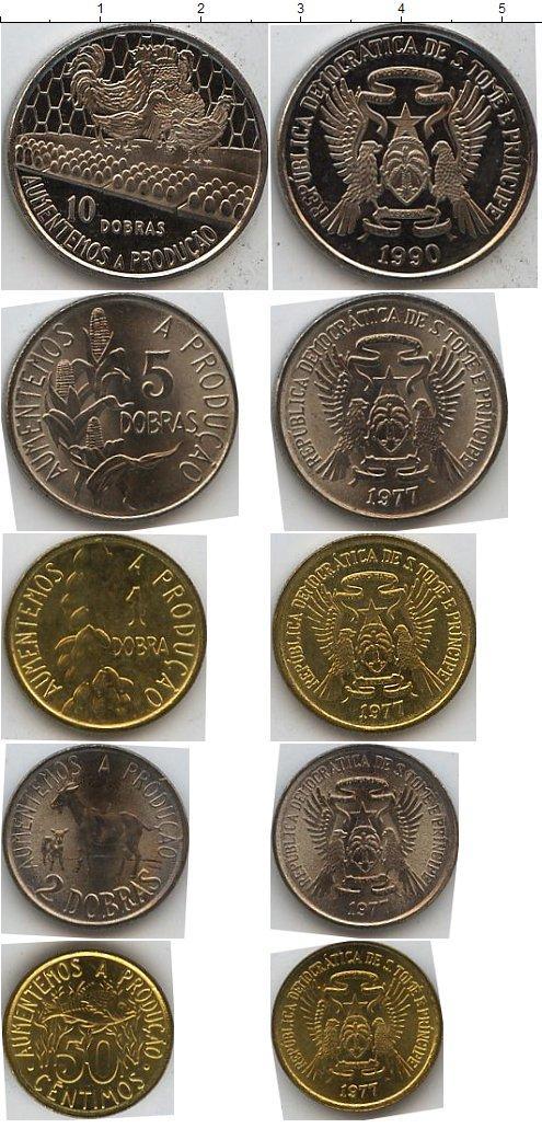 Каталог монет - Сан-Томе и Принсипи Сан-Томе и Принсипи 1977-1990