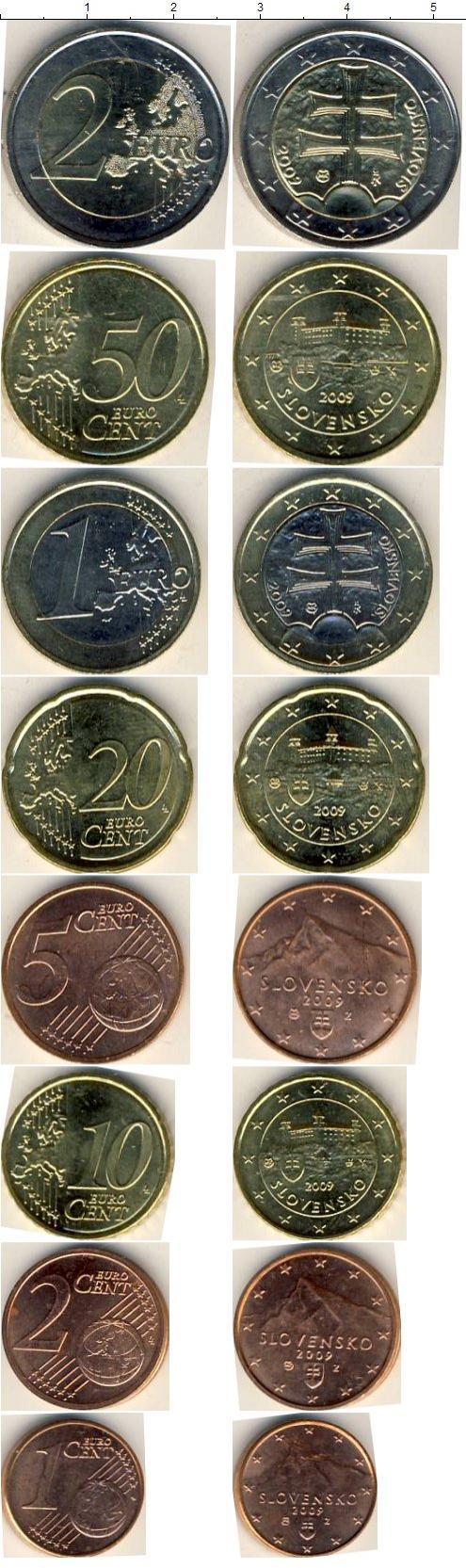 Каталог монет - Словакия Словакия 2009