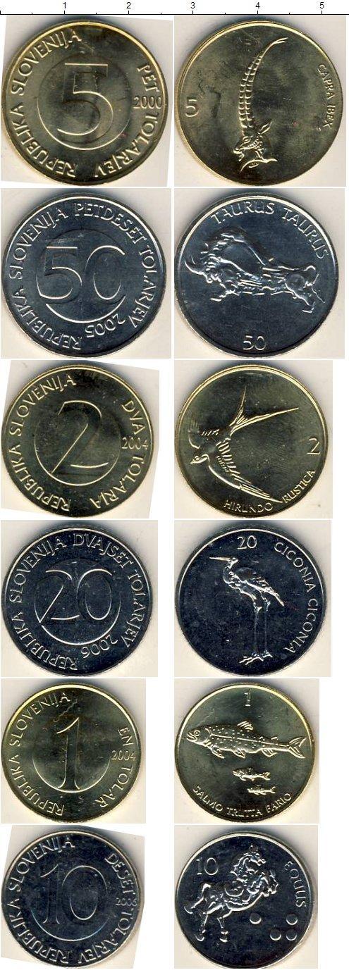 Каталог монет - Словения Словения 2000-2006