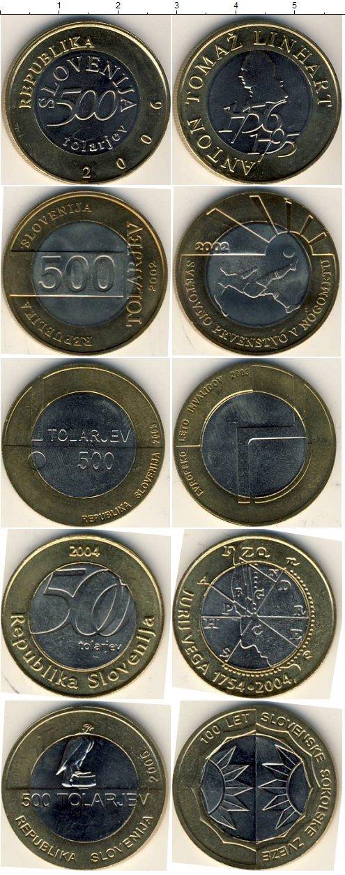 Каталог монет - Словения Словения 2002-2006