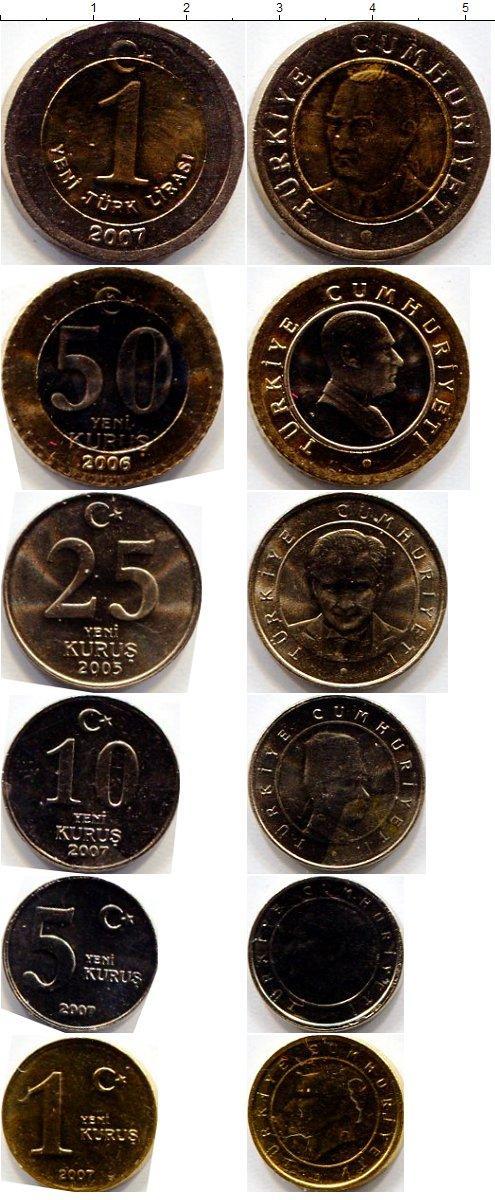 Каталог монет - Турция Турция 2005-2006