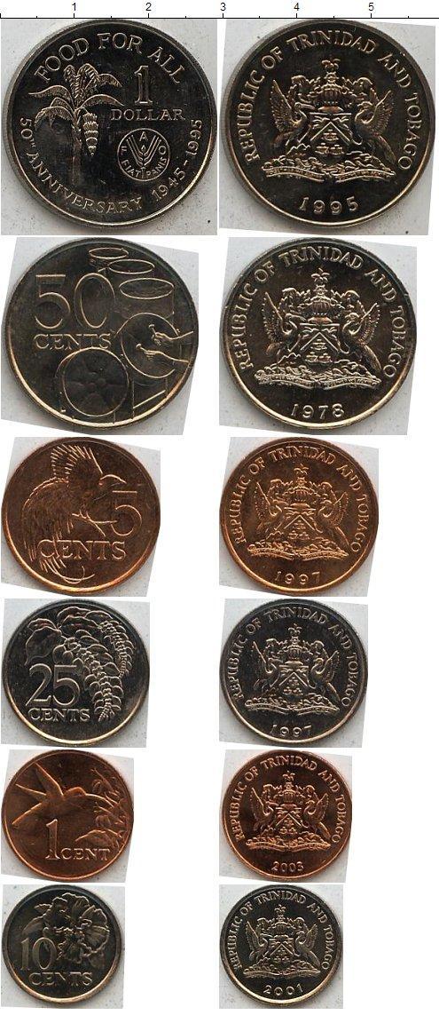 Каталог монет - Тринидад и Тобаго Тринидад и Тобаго 1979-2005