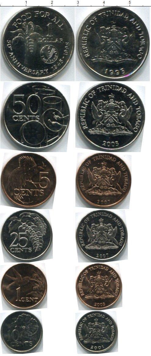 Каталог монет - Тринидад и Тобаго Тринидад и Тобаго 1995-2007