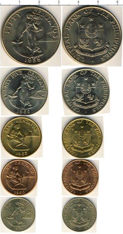Каталог монет - Филиппины Филиппины 1958-1966