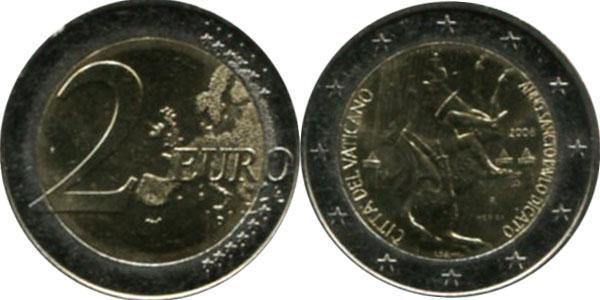 Каталог монет - Ватикан Понтифик Бенедикту XVI,