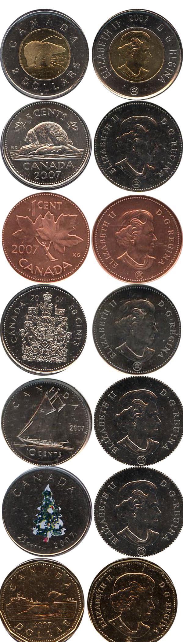 Каталог монет - Канада Зимняя сказка