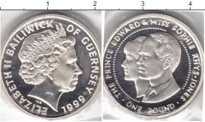 Каталог монет - Гернси 1 фунт