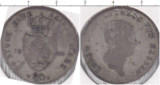 Каталог монет - Гессен 20 крейцеров
