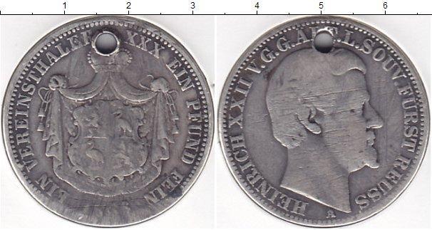 Каталог монет - Рейсс 1 талер