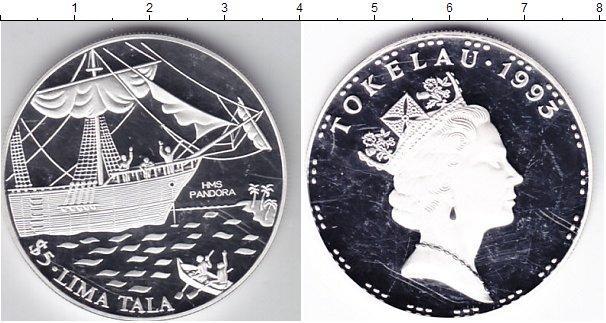 Каталог монет - Токелау 5  тала