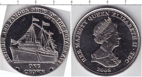 Каталог монет - Тристан-да-Кунья 1 крона