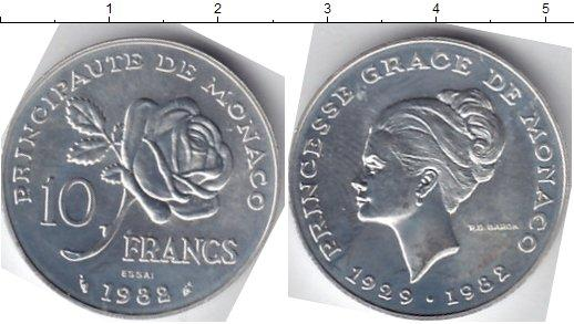 Каталог монет - Монако 10 франков