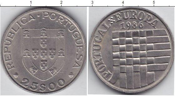 Каталог монет - Португалия 25 эскудо