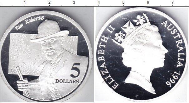 Каталог монет - Австралия 5 долларов