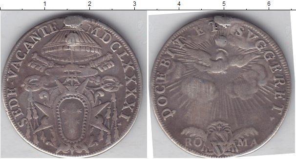 Каталог монет - Ватикан 1/2 пиастра