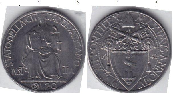 Каталог монет - Ватикан 20 сентим