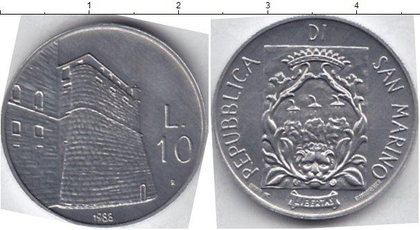Каталог монет - Сан-Марино 10 лир