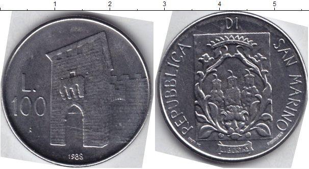 Каталог монет - Сан-Марино 100 лир