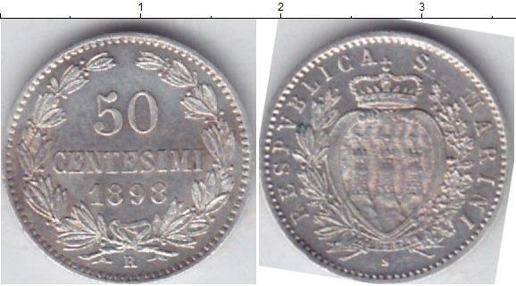 Каталог монет - Сан-Марино 50 сентесим