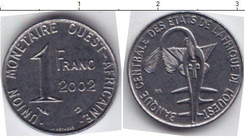 Каталог монет - КФА 1 франк