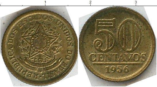 Каталог монет - Бразилия 50 сентаво